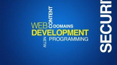 Web Development — Stock Video #24022689
