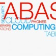 Cloud Computing word cloud text animation - Stock Photo
