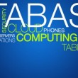 Cloud Computing word cloud text animation — Stock Video