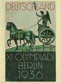 Vintage german cigarette card — Foto Stock