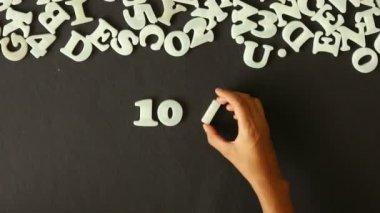 10-процентная скидка (на немецком языке) — Стоковое видео