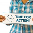 Time For Action — Foto de stock #29625565