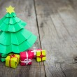 Stock Photo: Christmas Tree With Presents