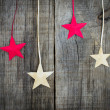 Stock Photo: Christmas Star Decoration