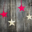 Christmas Star Decoration — Stock Photo