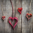 Paper Heart Decoration — Stock Photo