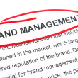 Brand Management — Stock Photo
