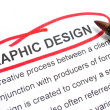 Graphic Design — Foto de Stock