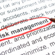 Risk Management — Foto Stock #31226833