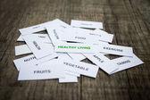 健康的な生活の基本概念 — ストック写真