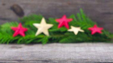 Christmas Decoration — Stock Video