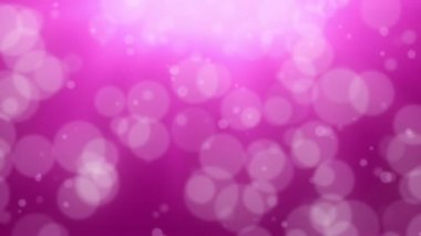 Pink Bokeh Dot Background — Stock Video