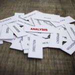 Analysis Concept — Stock Photo