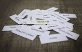 Gezondheid concept — Stockfoto