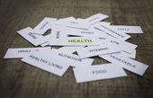 Sağlık kavramı — Stok fotoğraf