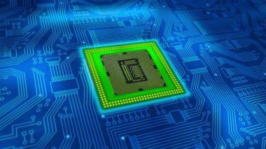 Microprocessor — Stock Video
