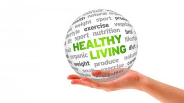 Healthy Living Sphere — Stock Video
