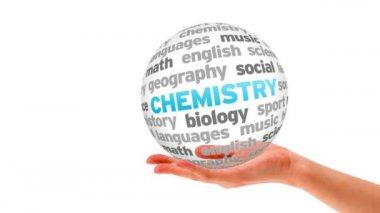 Chemistry Word Sphere — Stock Video