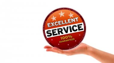 Excellent Service — Стоковое видео