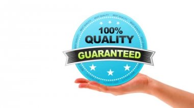 100 percent quality Guaranteed — Vídeo Stock