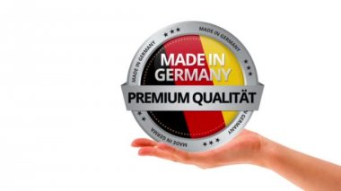 Made in Germany — Wideo stockowe
