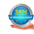 24h Customer Service (In Spanish) — Stock Video