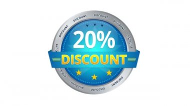 20 percent Discount — Video Stock