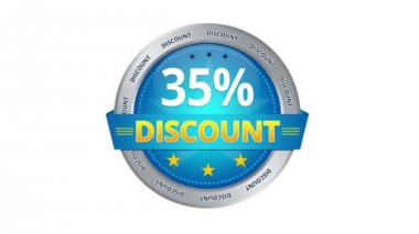 35 percent Discount — Stockvideo