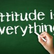 Attitude is everything Chalk Illustration — Stock Photo #40046325