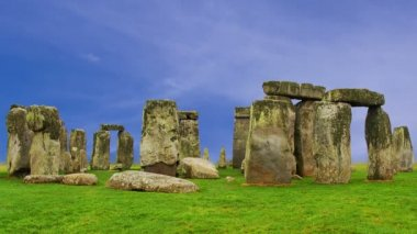 Stonehenge Cloud Timelapse — Stock Video