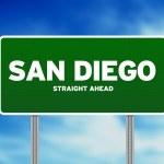 San Diego, California Highway Sign — Stock Photo #6101715