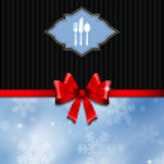 Christmas menu design — Stock Photo #33384155