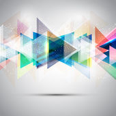 Abstract triangles — Stock Photo