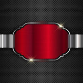 Metallic background — Stockfoto