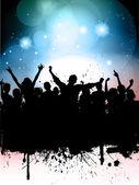 Grunge parti arka plan — Stok fotoğraf