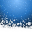 Snowflake background — Stock Photo #33402975