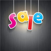 Sale background — Stockfoto