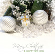 Foto Stock: Merry Christmas background