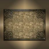 Decorative grunge frame background — Foto de Stock