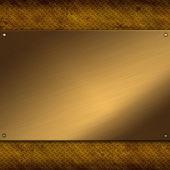 Gold metal background — Zdjęcie stockowe
