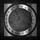 Grunge kovové pozadí — Stock fotografie