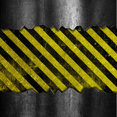 Grunge metal and stripes background — Stock Photo