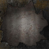 Grunge stone and rusty metal background — Stock Photo