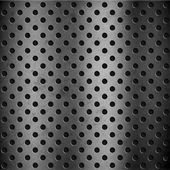 Perforated metal background — Photo