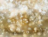 Kar taneleri ve yıldız 2308 — Stok fotoğraf