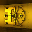 Stock Photo: Gold vault