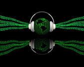 Digital music — Стоковое фото