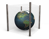Global security — Stock Photo