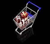 クリスマスの買い物 — ストック写真