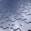 Stock Photo: Jigsaw pieces